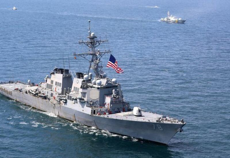 ВМС США открыли предупредительный огонь в сторону иранских кораблей