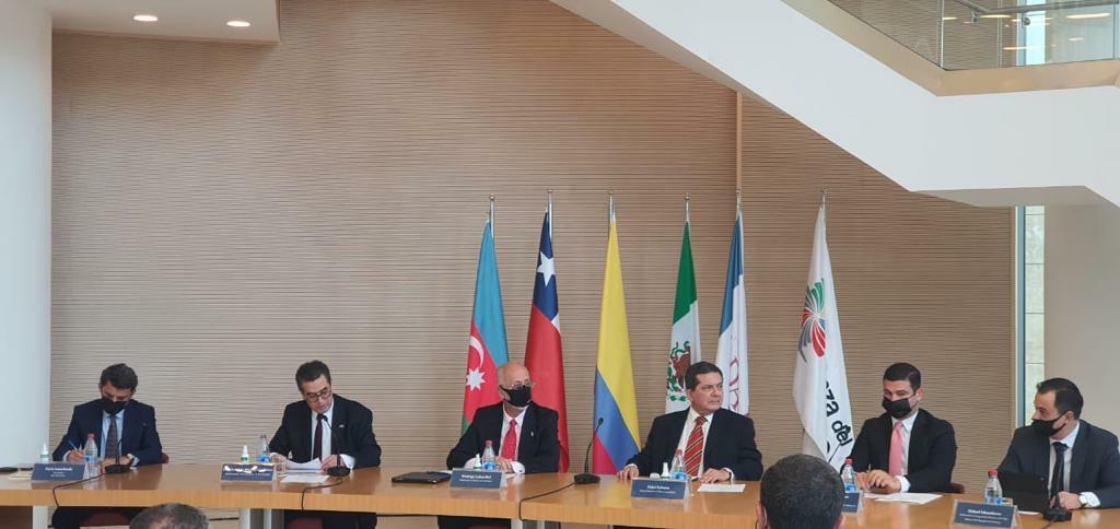 Посольства Тихоокеанского альянса в Азербайджане - Колумбии, Мексики и Чили, отмечают десятилетие этого интеграционного механизма
