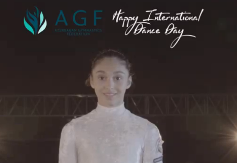 Федерация гимнастики Азербайджана представила видеоролик к Международному дню танца