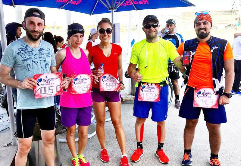 В Баку пройдет забег Wings for Life World Run
