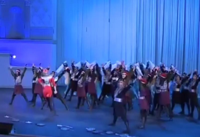 "Танец ""Из крепости в крепость"" в блоге @azerbaijan.state.dance"