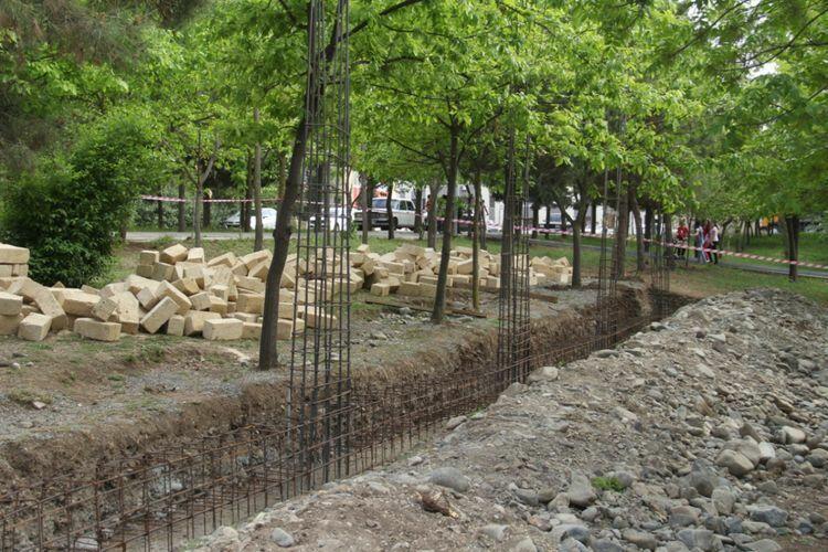 В Гяндже началось строительство мемориального комплекса памяти шехидов