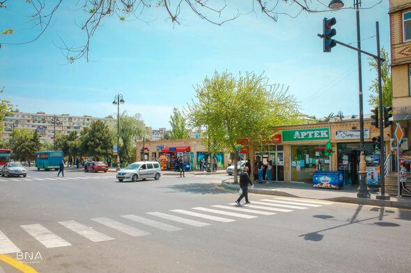 На пересечении двух улиц в поселке Говсан установлен светофор