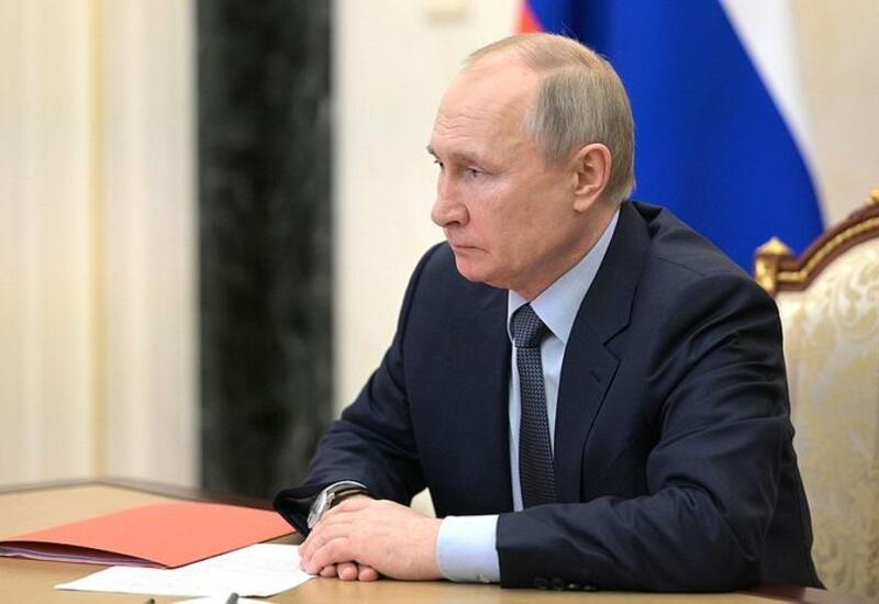 Путин обсудил с членами Совбеза РФ ситуацию в Каспийском регионе