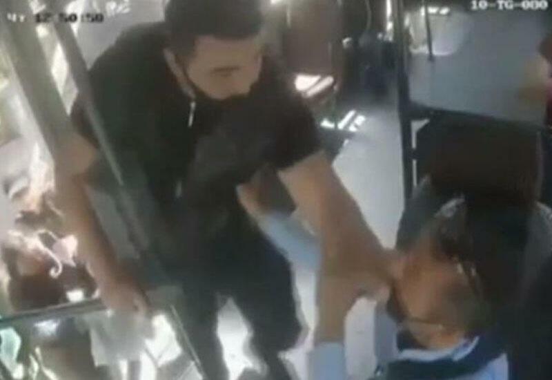 Задержан молодой человек, избивший в Хырдалане водителя автобуса