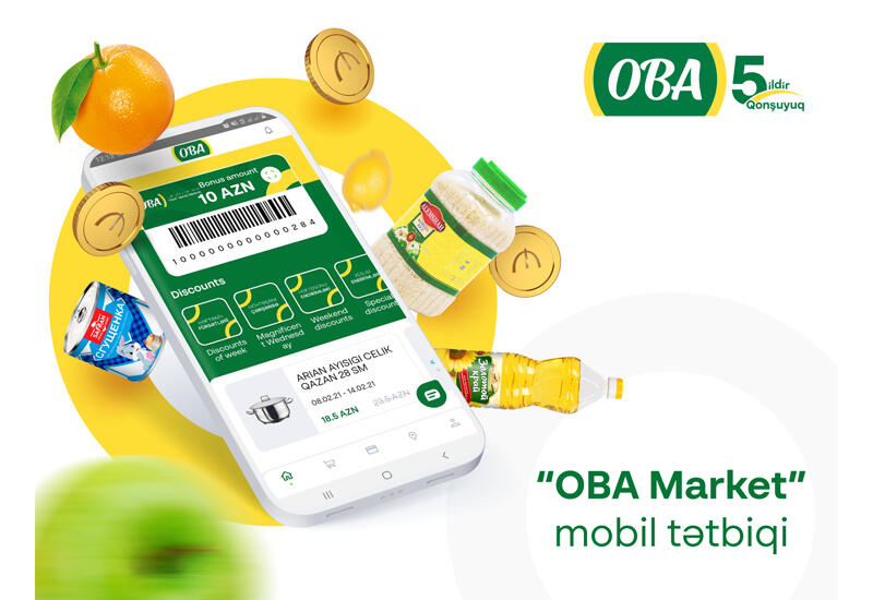 """Запущено мобильное приложение """"OBA Market"""""""