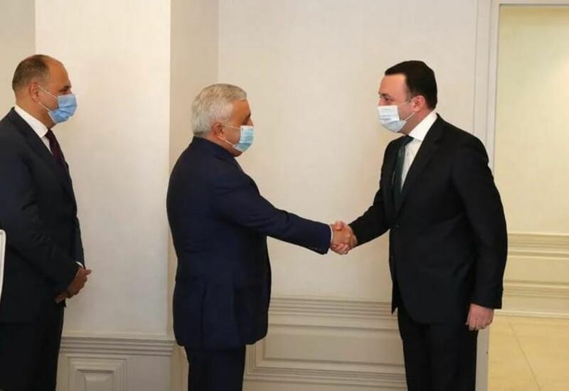 Ровнаг Абдуллаев встретился с премьер-министром Грузии
