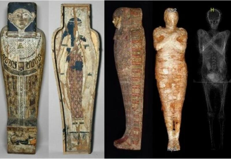Ученые впервые нашли беременную мумию