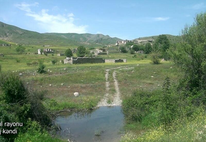 Еще одно разрушенное село в Джебраиле
