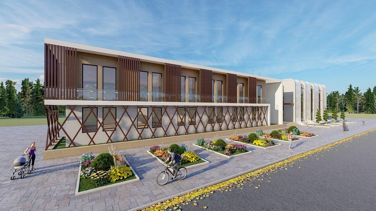 В Габале и Шамкире строятся детские реабилитационные центры