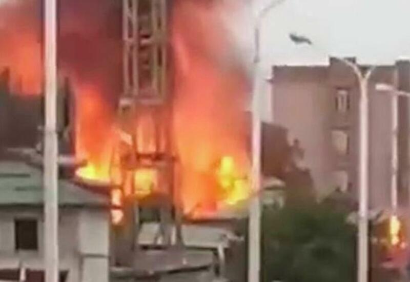 На АЗС в Душанбе прогремел мощный взрыв, ранены 29 человек