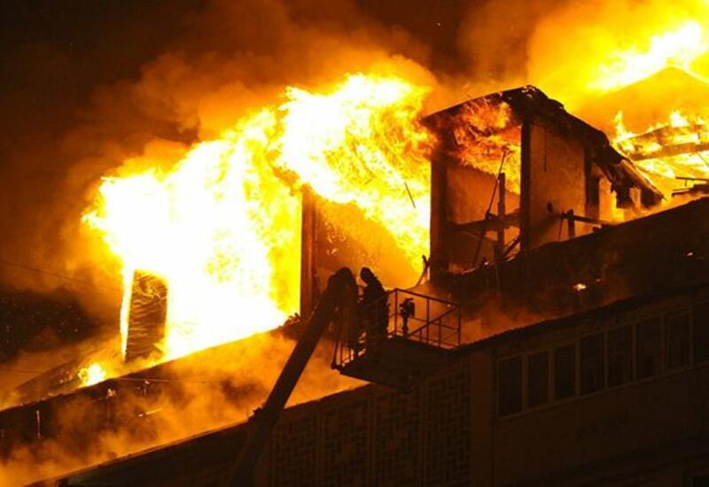 При пожаре в Кабуле погибли 9 человек