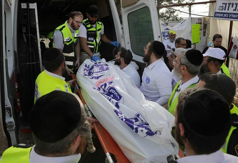 В Израиле завершили опознание 45 погибших в давке на горе Мерон