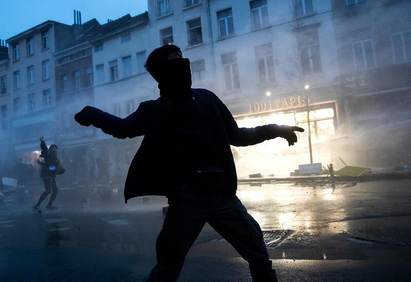 В Брюсселе задержали 132 участников не разрешенного фестиваля