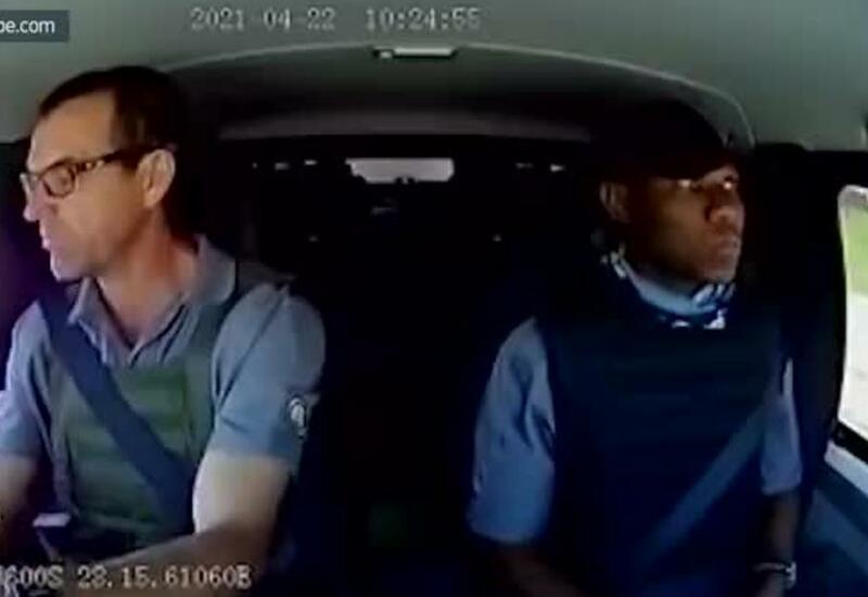 Нападение на инкассаторский автомобиль попало на видео