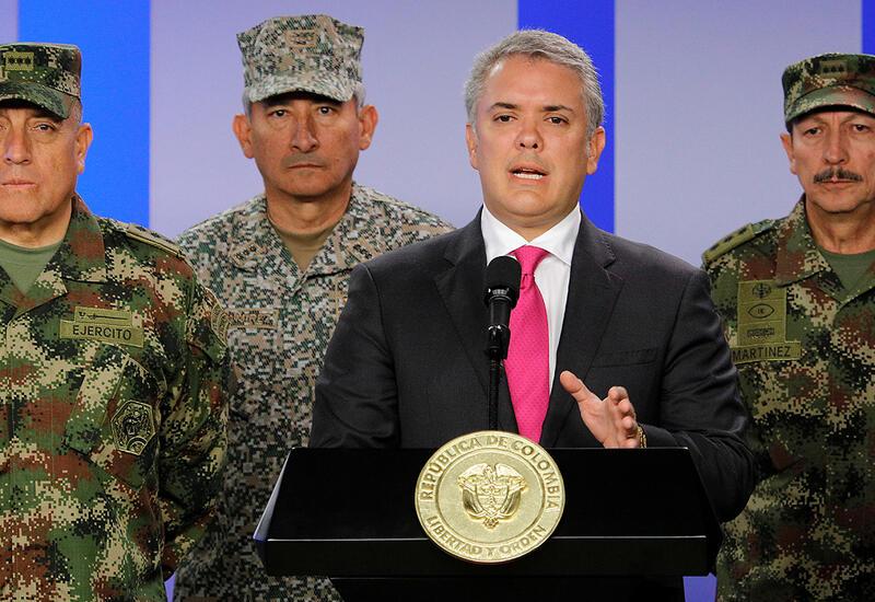 Президент Колумбии заявил о введении войск в города, где продолжаются протесты