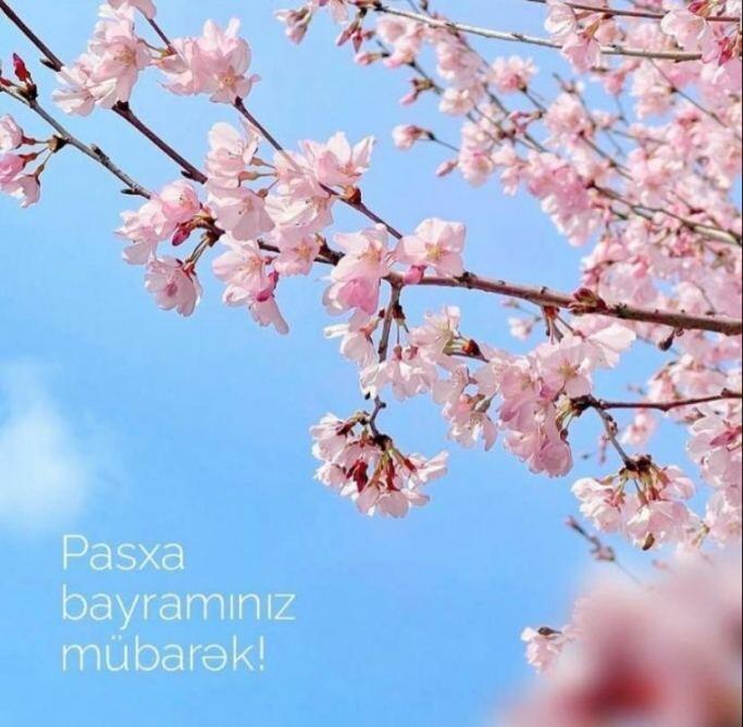 Лейла Алиева поздравила христианскую общину Азербайджана с Пасхой