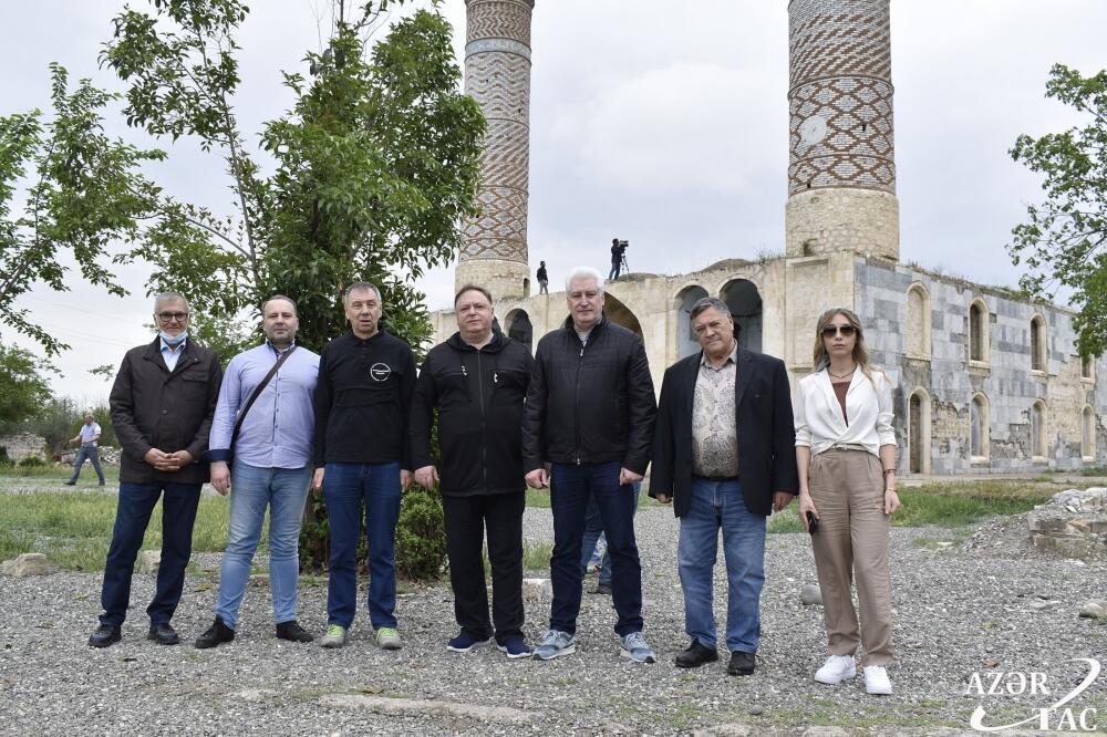 Российские депутаты и эксперты стали свидетелями варварства, совершенного армянами в Агдаме