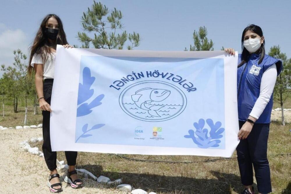 Вице-президент Фонда Гейдара Алиева Лейла Алиева посетила Гызылагаджский национальный парк