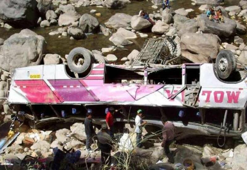 Жуткая авария в Пакистане