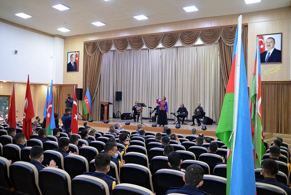 Продолжаются мероприятия, посвященные 50-летию Военного лицея имени Дж. Нахчыванского