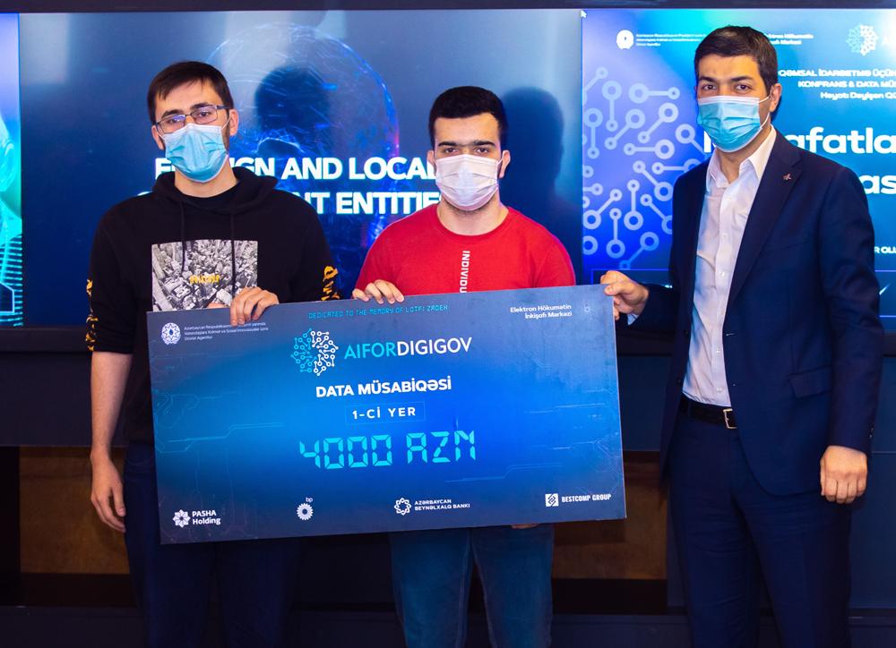 Два из первых трех мест в конкурсе цифровых решений Data заняли выпускник и студент IBA Tech Academy