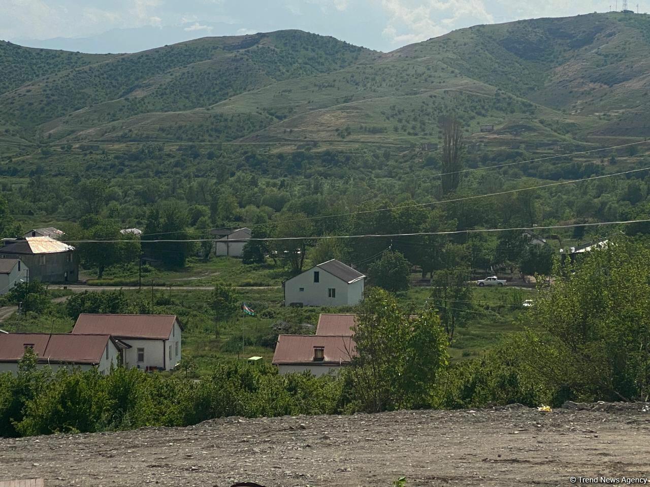 В селе Ханлыг Губадлинского района начинается новая жизнь
