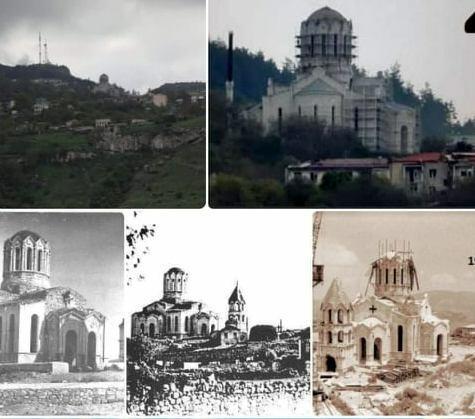 Армяне пытаются выдать православную церковь в Шуше за свою