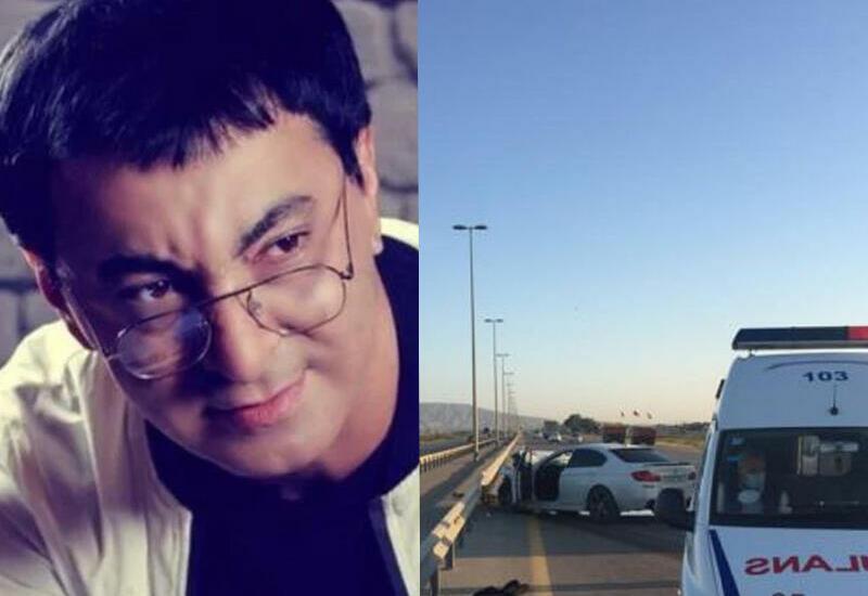 В Сети появились кадры аварии, в которой погиб певец Аслан
