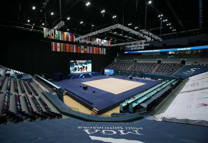 Национальная арена гимнастики в Баку полностью готова принять Кубок мира по художественной гимнастике