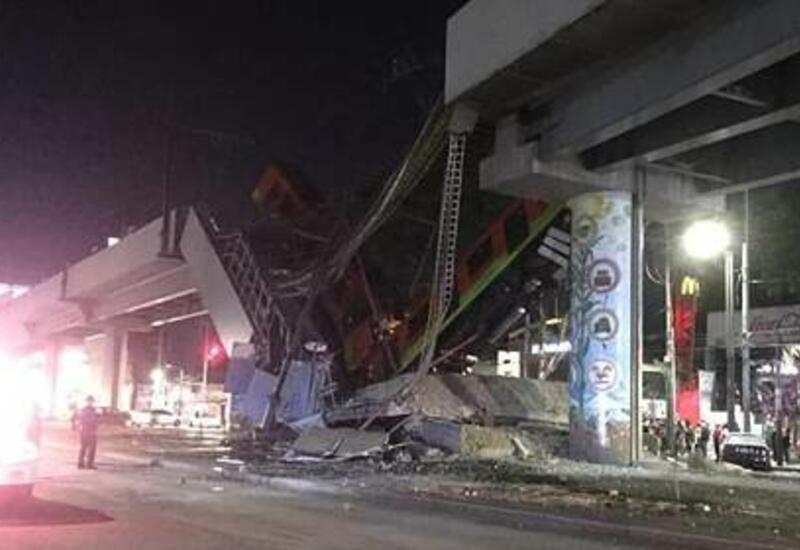 Обрушение метромоста в Мехико: