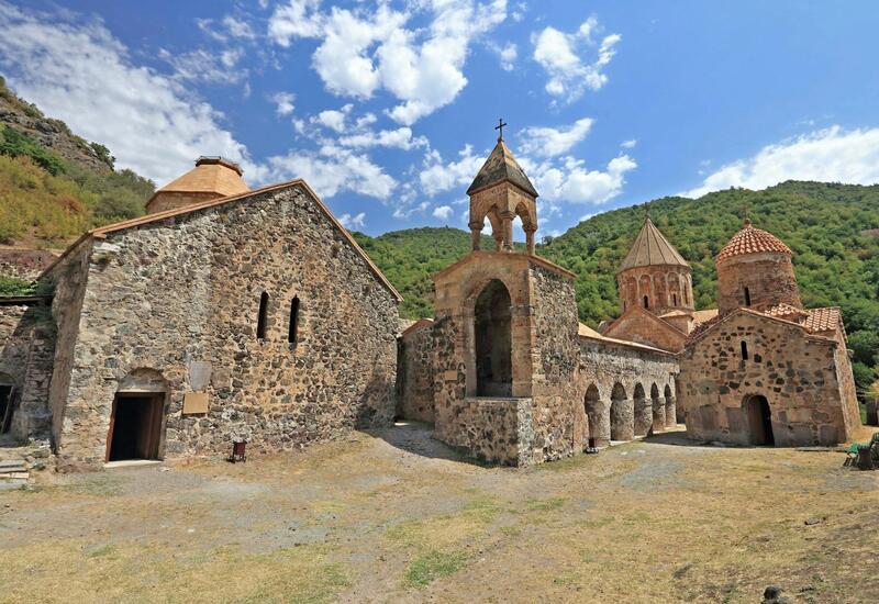 Албано-удинская религиозная община Азербайджана посетила Худавенгский монастырь
