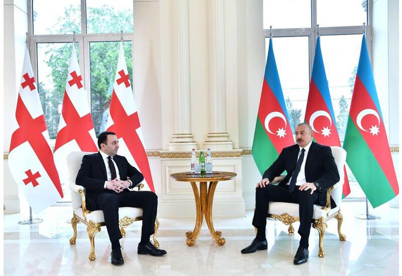 Президент Ильхам Алиев: Отношения между народами Азербайджана и Грузии опираются на большую историю