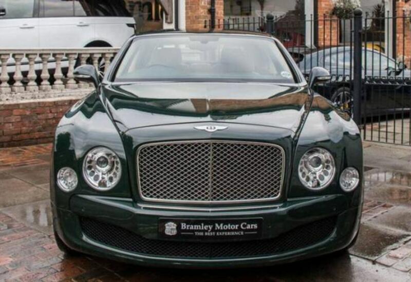 Bentley Елизаветы II продали почти за 180 тыс. фунтов стерлингов