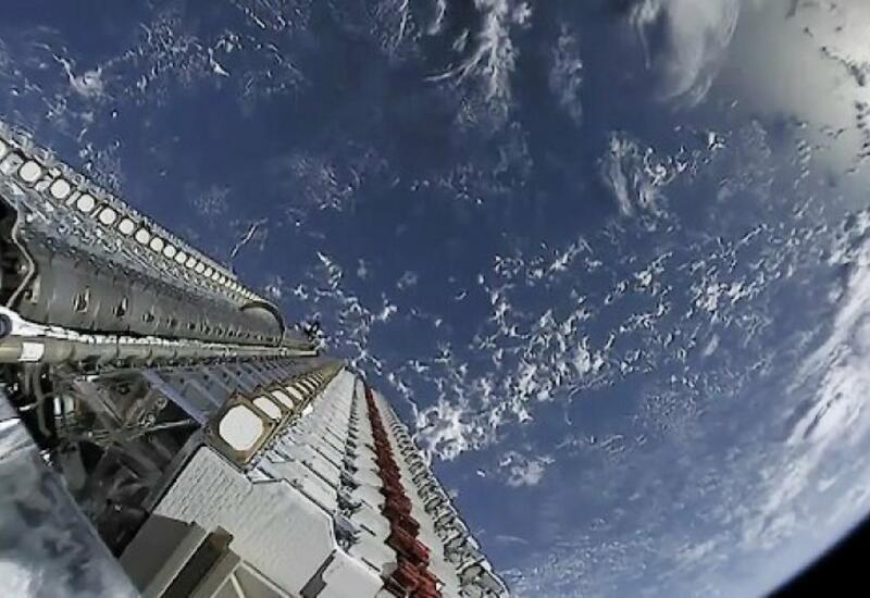 SpaceX осуществила запуск ракеты-носителя со спутниками Starlink