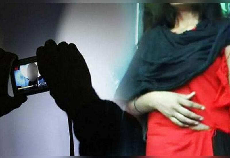 В Шеки задержан мужчина, шантажировавший женщину