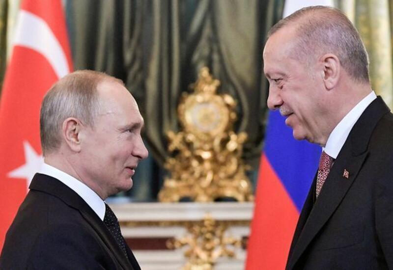 Эрдоган и Путин обсудили доставку вакцины «Спутник V» в Турцию