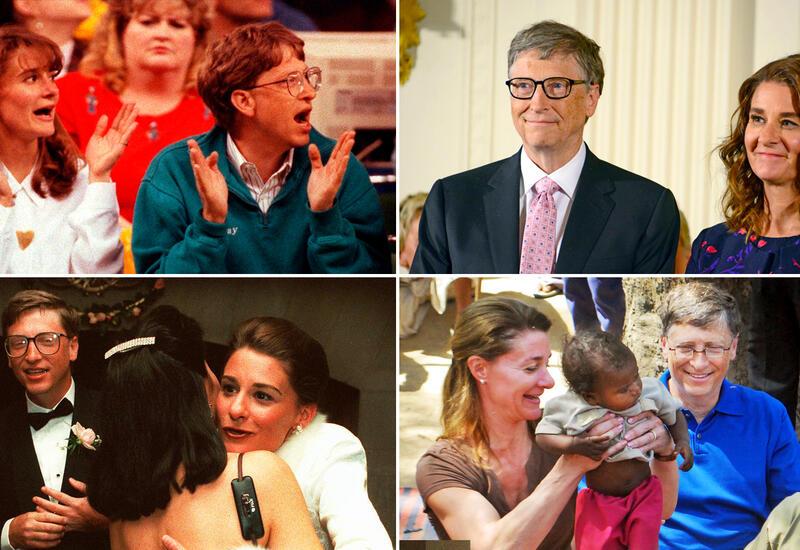 Развод после 27 лет: подборка семейных фото Била и Мелинды Гейтс