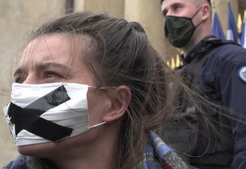 Экоактивисты во Франции устроили очередную акцию протеста
