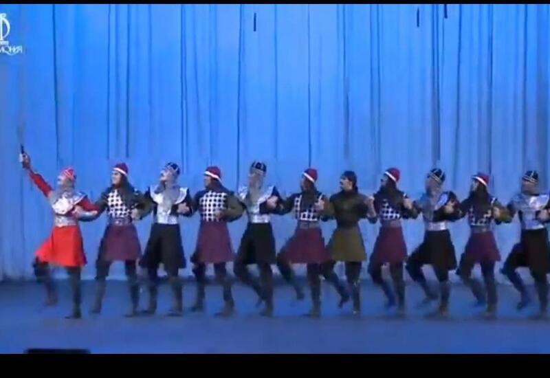 Яркий номер от Ансамбля танца Азербайджана