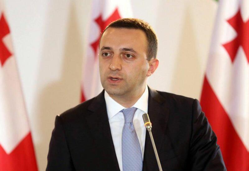 Премьер Грузии посетил могилу общенационального лидера Гейдара Алиева