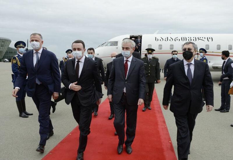 Премьер Грузии прибыл с визитом в Азербайджан