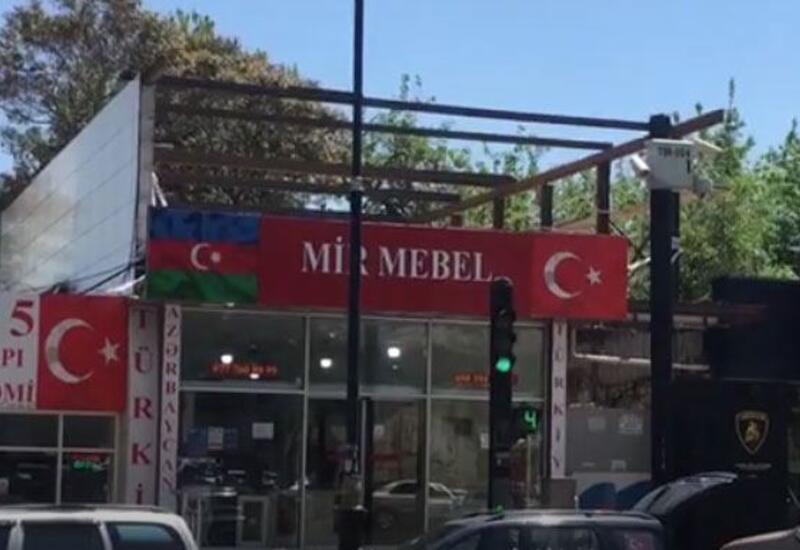 В Баку приостановили незаконное строительство