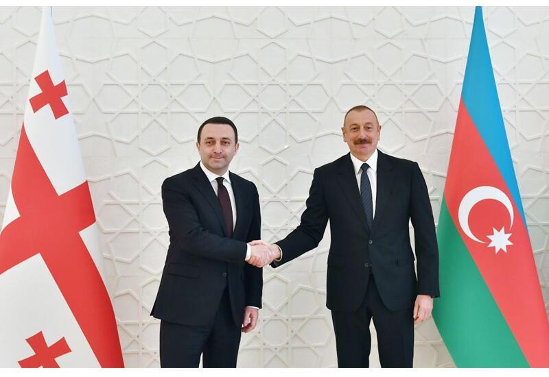 Ираклий Гарибашвили пригласил Президента Ильхама Алиева в Грузию