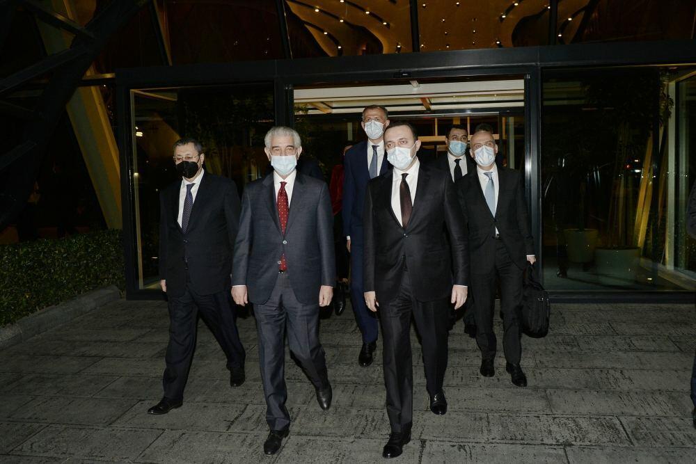 Завершился визит премьер-министра Грузии в Азербайджан