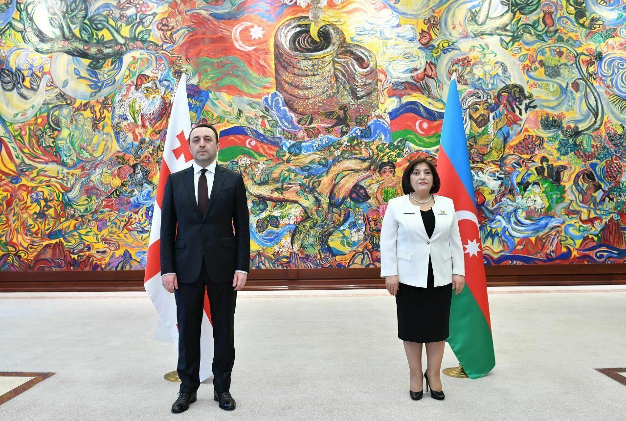 Сахиба Гафарова встретилась с премьер-министром Грузии