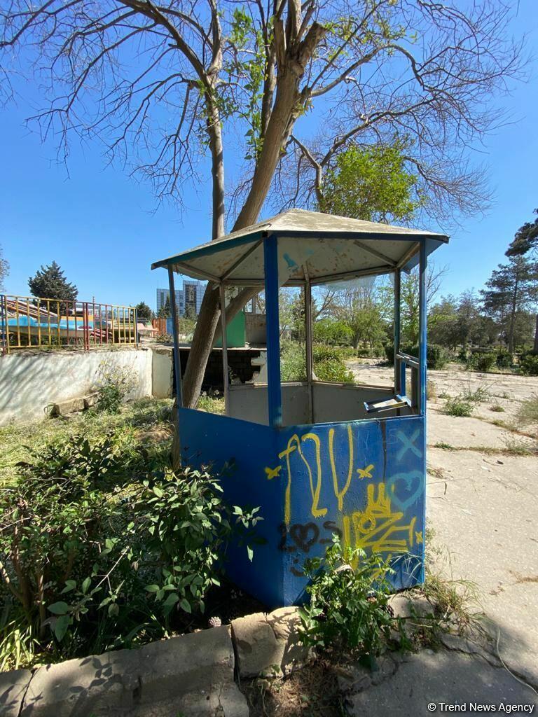 """Bakının məşhur """"Luna Parkı"""" yenidən qurulur"""