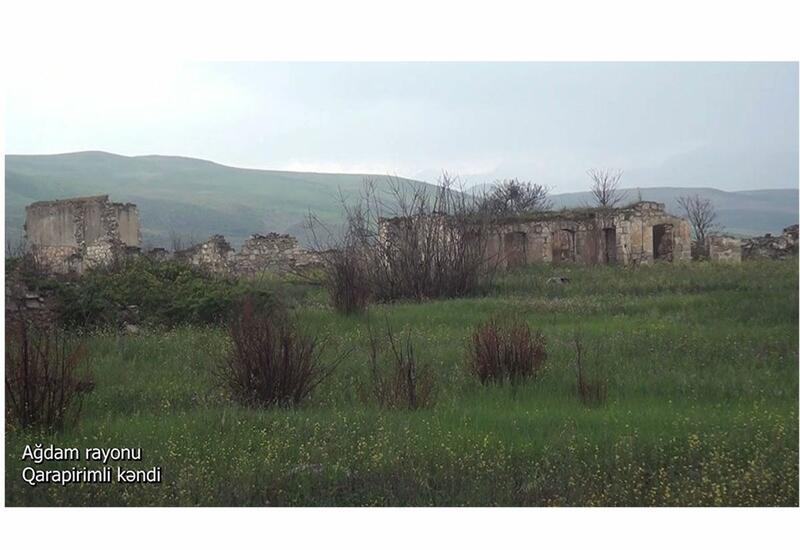 Освобожденное от оккупации село Гарапиримли Агдамского района