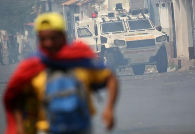 Протестующие бросились на штурм Капитолия в Колумбии