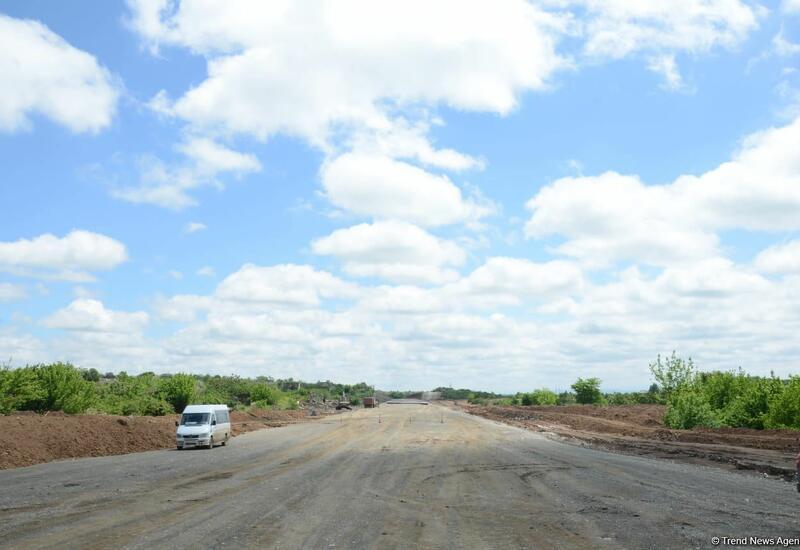 Продолжается строительство автомобильной дороги Ахмедбейли-Физули-Шуша